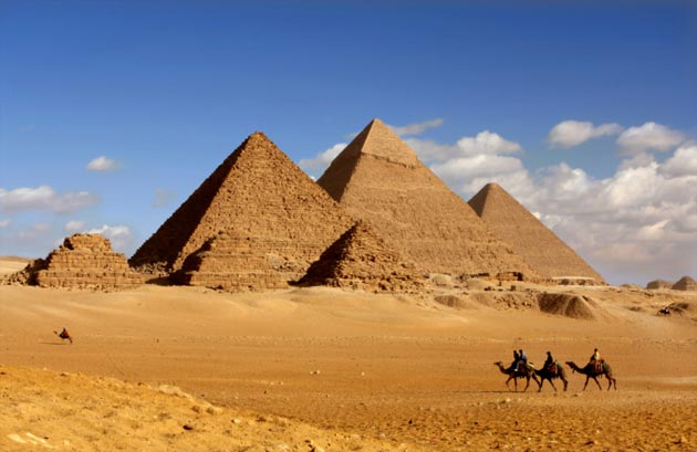 Pyramids of Giza Travel Information