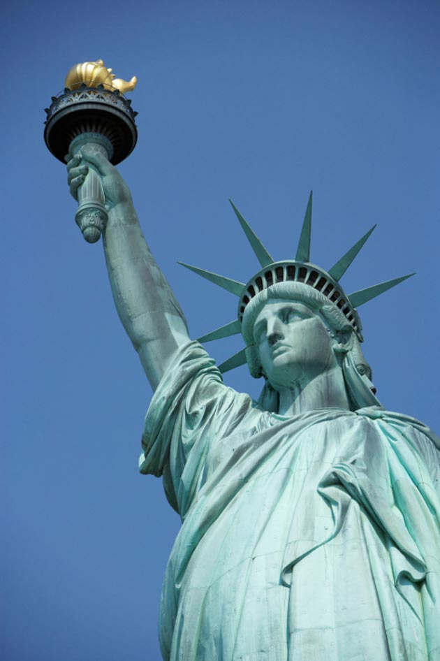 Statue Of Liberty New York Map Facts Location Best Time To Visit - Where is the statue of liberty located