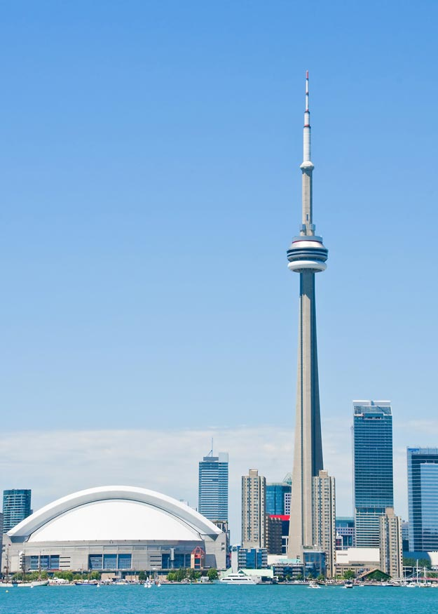 CN Tower Travel Information