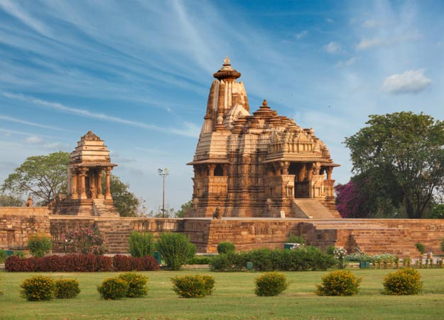 One of the most popular attractions in India and one of India's Seven Wonders, the Khajuraho Temples are the largest group of medieval Hindu and Jain temples.