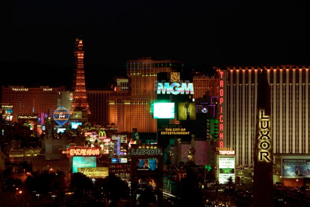 Las Vegas is the world's entertainment capital, with casinos and gambling, live performances, nightclubs, roller coasters, and more.