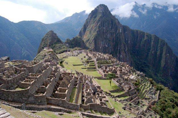 Machu Picchu in Peru