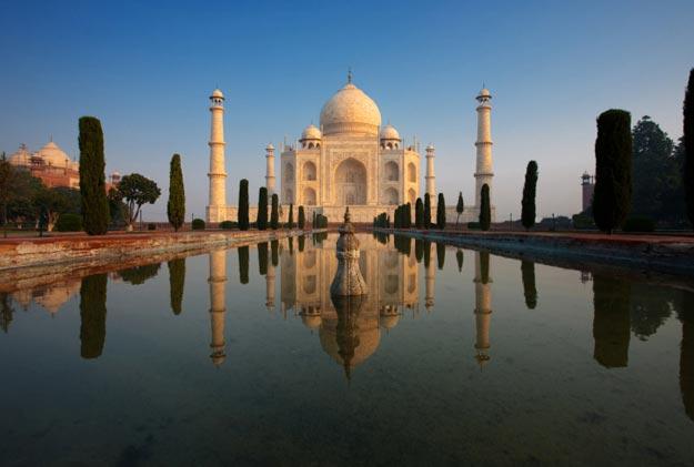 Taj Mahal Location