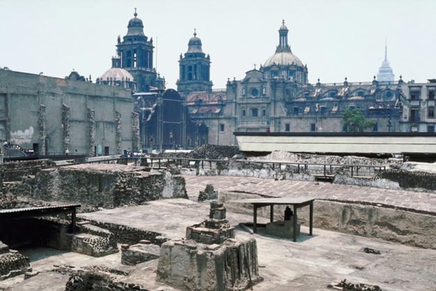 Templo Mayor, Aztec Temple in Mexico City