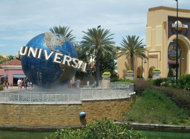 Universal Orlando - Theme Park at Florida, USA