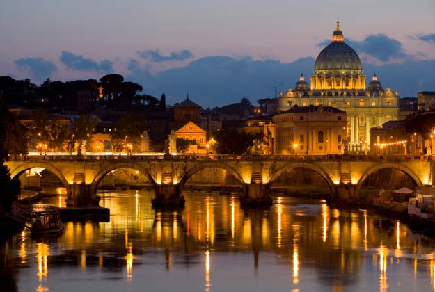 The seat of the Pope, the worldwide head of the Catholic Church, the Vatican is an independent state within Italy.
