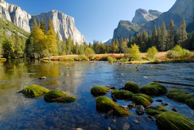 Yosemite was one of the first wilderness parks established in the United States, and today is the third most visited in the country with about 4 million annual visitors.