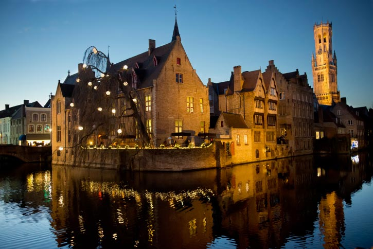 A Picture from Bruges, The largest city and Capital of Belgium.