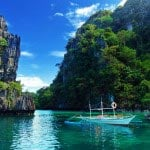 Tropical sea at El Nido, Philippines.