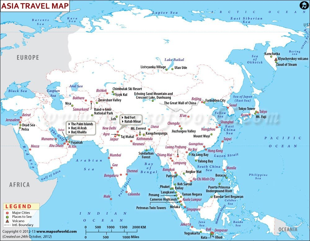Asia Travel Information