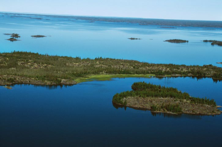 Great Slave Lake In Canada