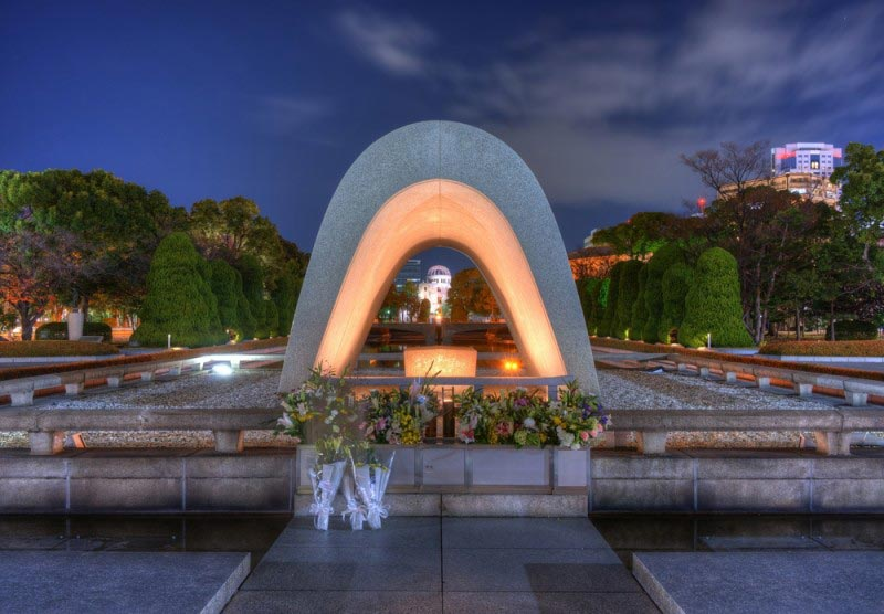 Hiroshima Peace Memorial Park, Japan