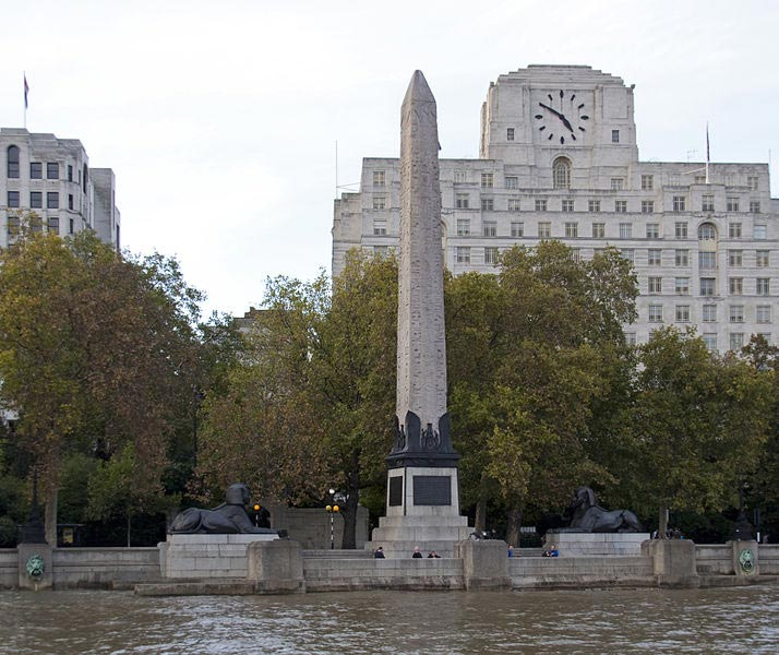Cleopatra's Needle , London, England