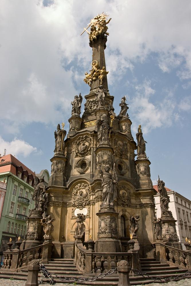 Holy Trinity Column at Olomouc, Czech Republic