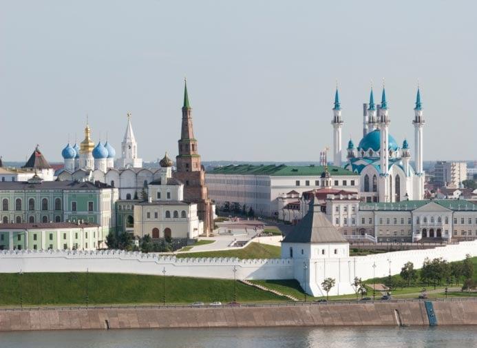 Kazan Kremlin in Russia