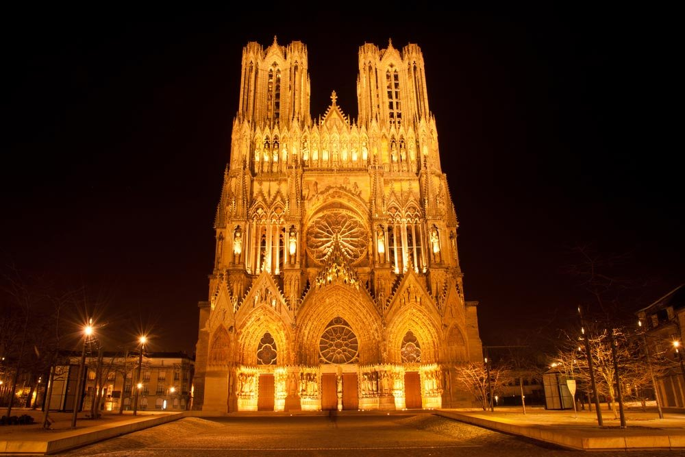 Reims Cathedral in France