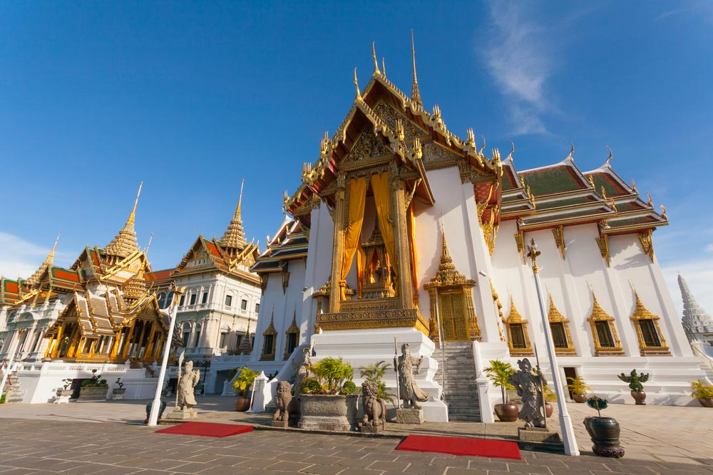 Grand Palace Bangkok Thailand Map Entrance Fee Hours Location