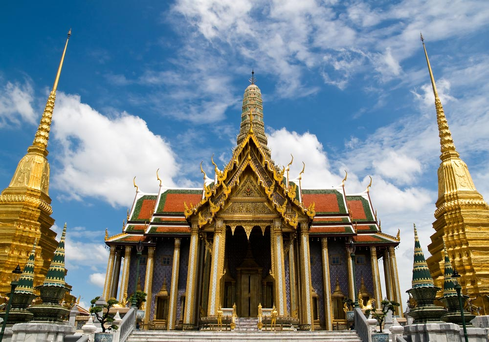 Wat Phra Kaeo Bangkok, Thailand