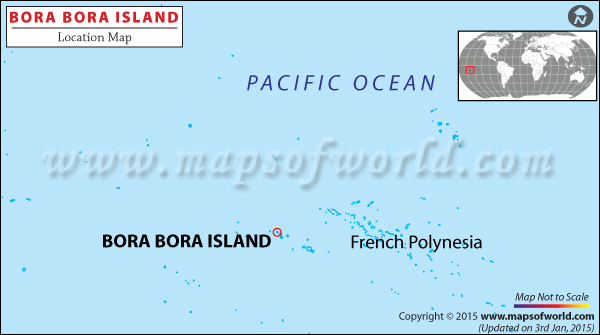 Bora Bora Location Map