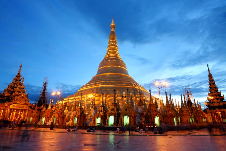 Image result for shwedagon pagoda burma