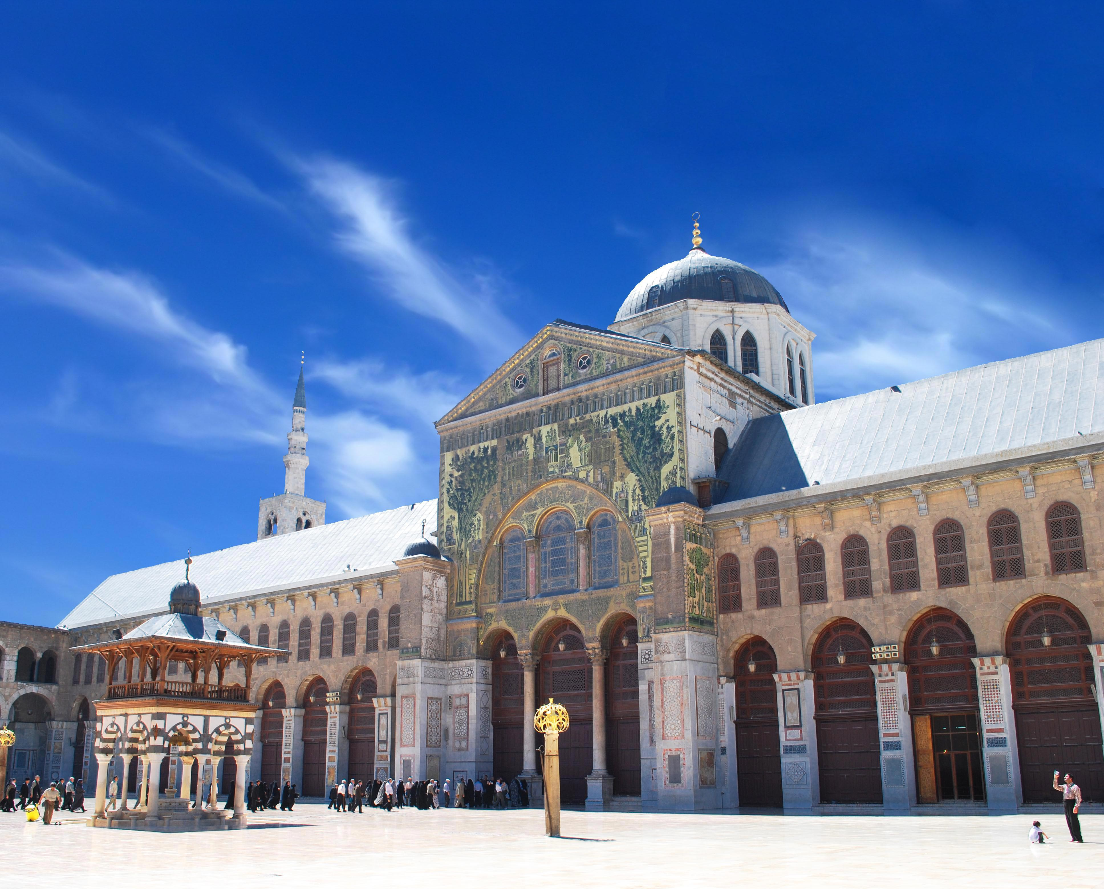 Umayyad Mosque (Grand Mosque of Damascus) at Syria