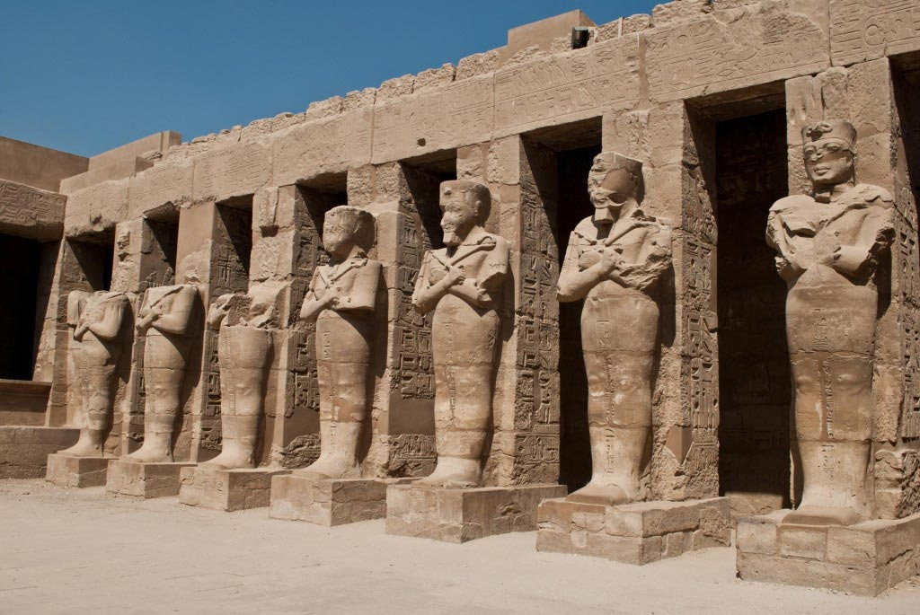 Karnak Temple In  Egypt