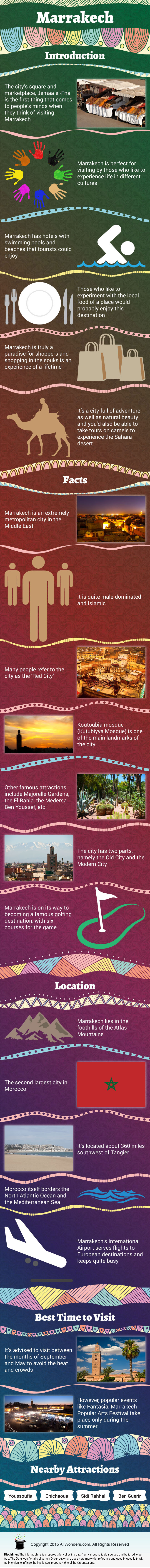 Marrakech - Facts & Infographic