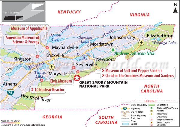Great Smoky Mountains National Park, USA - Map, Facts, Location ...