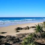 Scenic View of Fraser Island