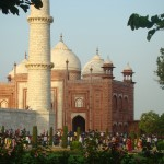 Mosque near the Taj Mahal