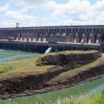 Itaipu Dam in Porto Belo, Brazil