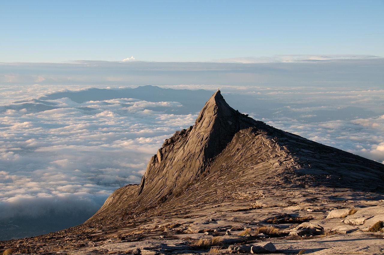 Subsidiary peak of Mount Kinabalu