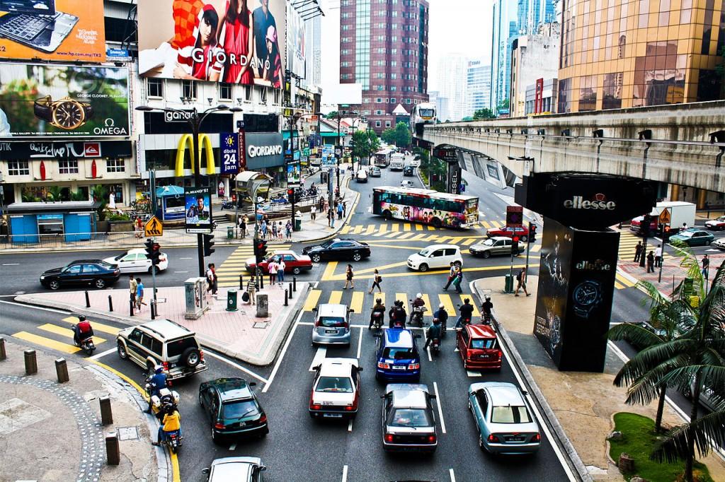 Bukit Bintang in Malaysia
