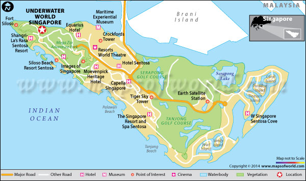 Underwater World Singapore Sentosa Map Facts Location Best time to visit
