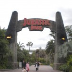 Jurassic Park Ride at Universal Studio Japan
