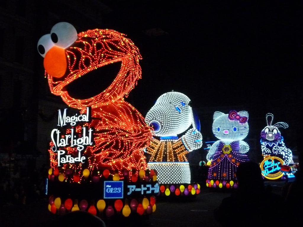 Magical Starlight Parade, Universal Studio Japan