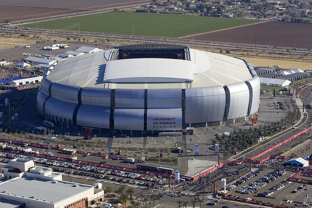 University of Phoenix Stadium in Arizona