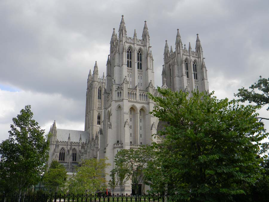 Washington National Cathedral in USA