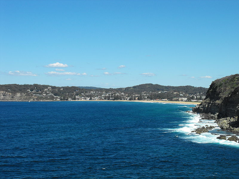 Avoca Beach in Australia