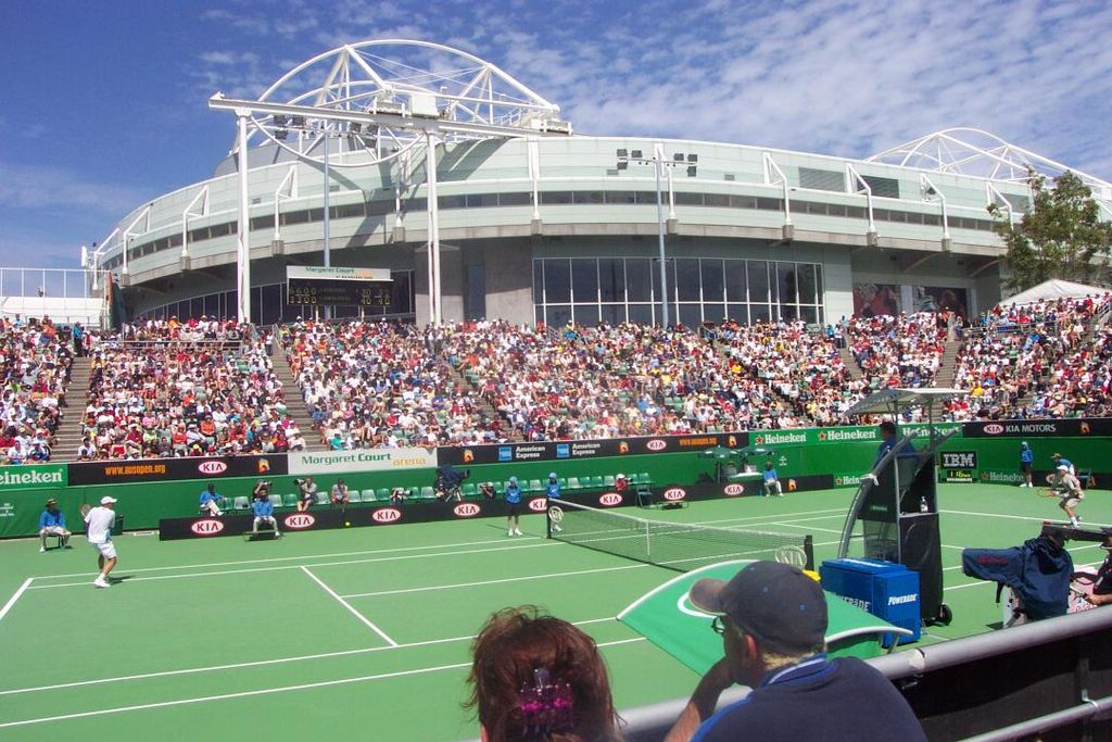 Margaret Court Arena in Melbourne