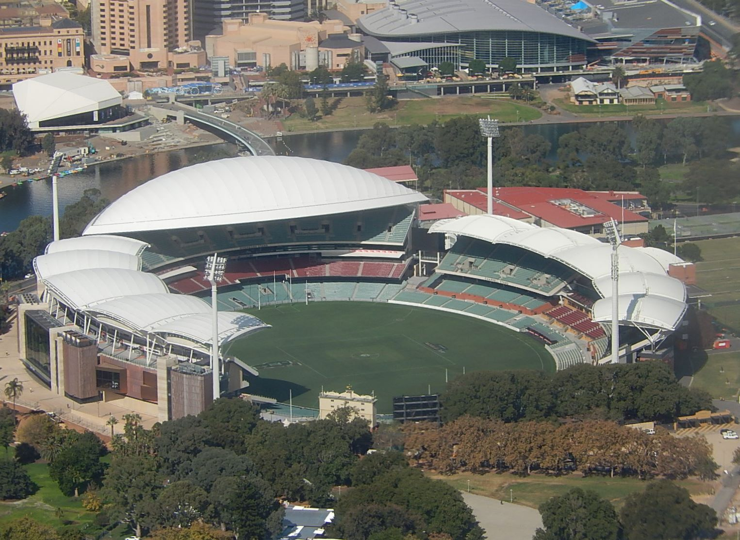 Adelaide Oval in  South Australia