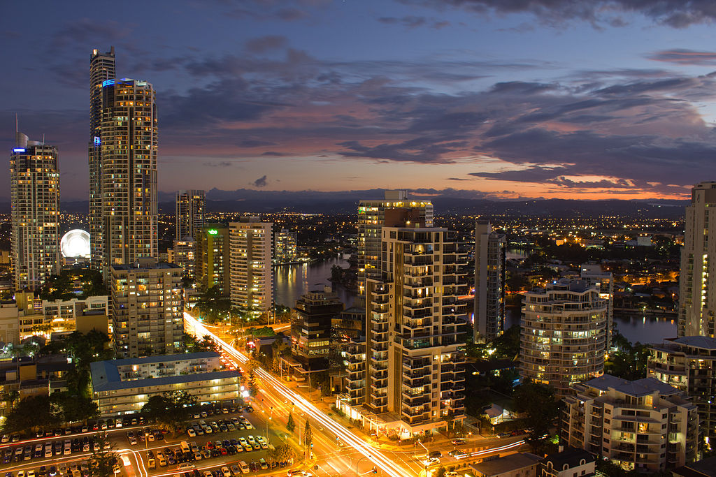 Gold Coast in Queensland
