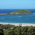 Muttonbird Island is a great place for bird-watchers