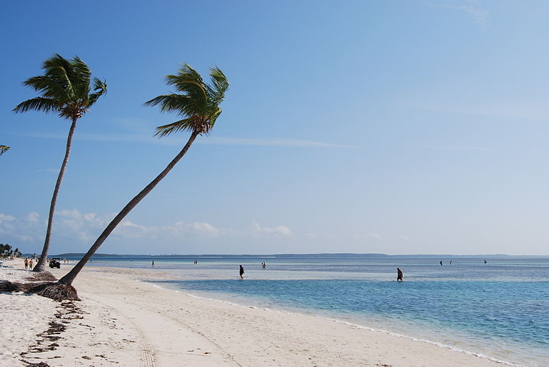 Beach on CocoCay