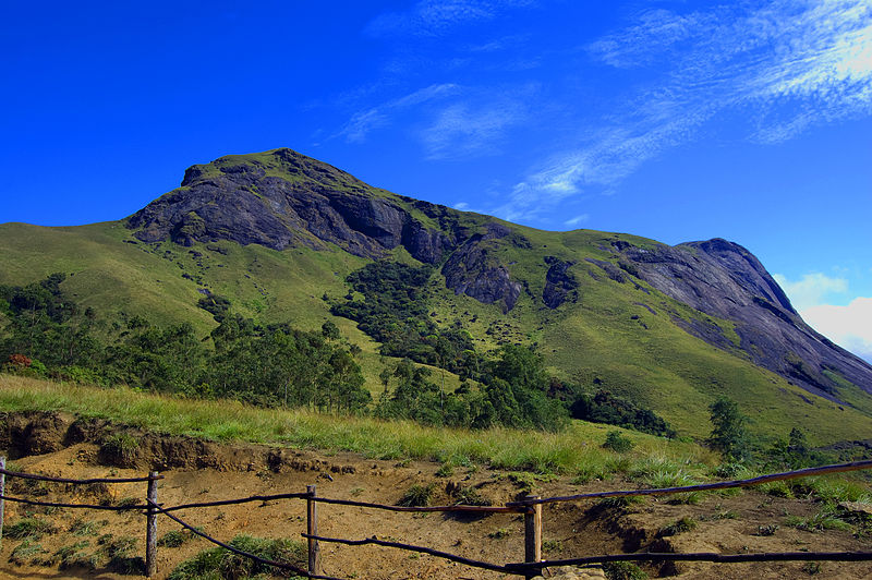 Anamudi Peak in Kerala