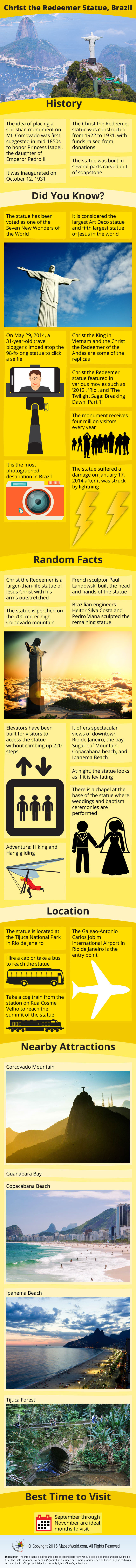 Christ The Redeemer Infographic