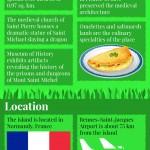 Mont Saint-Miichel Infographic