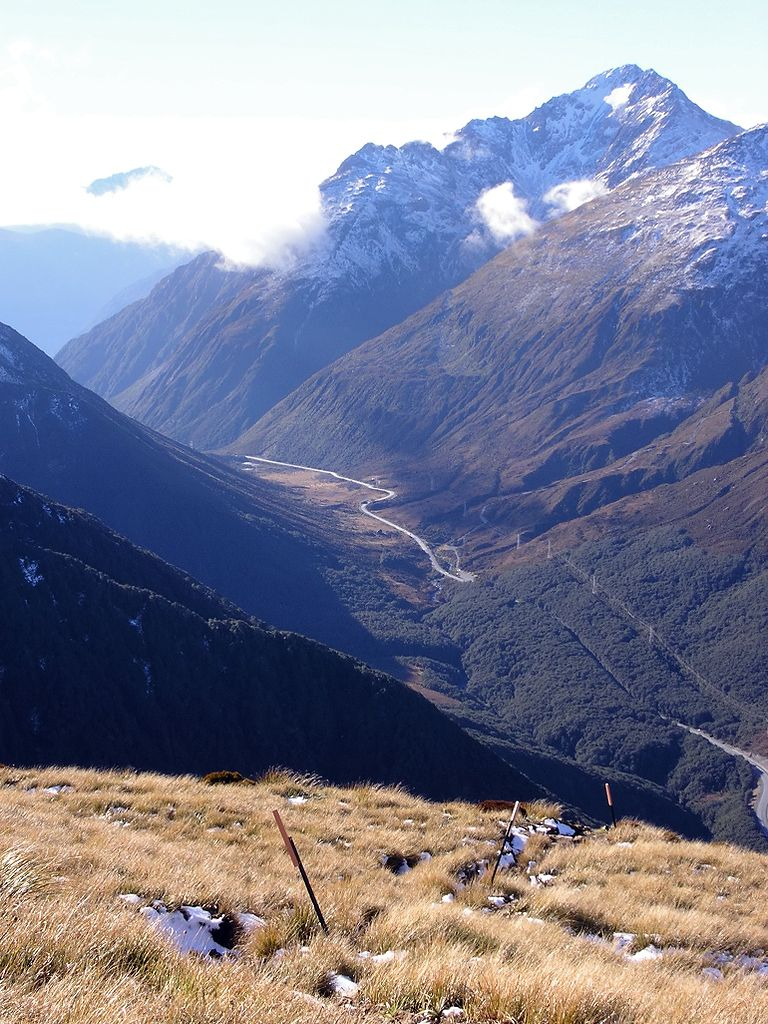 Arthur's Pass National Park in New Zealand