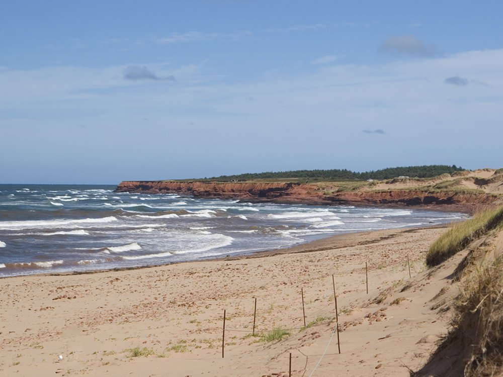 Cavendish beach pei map