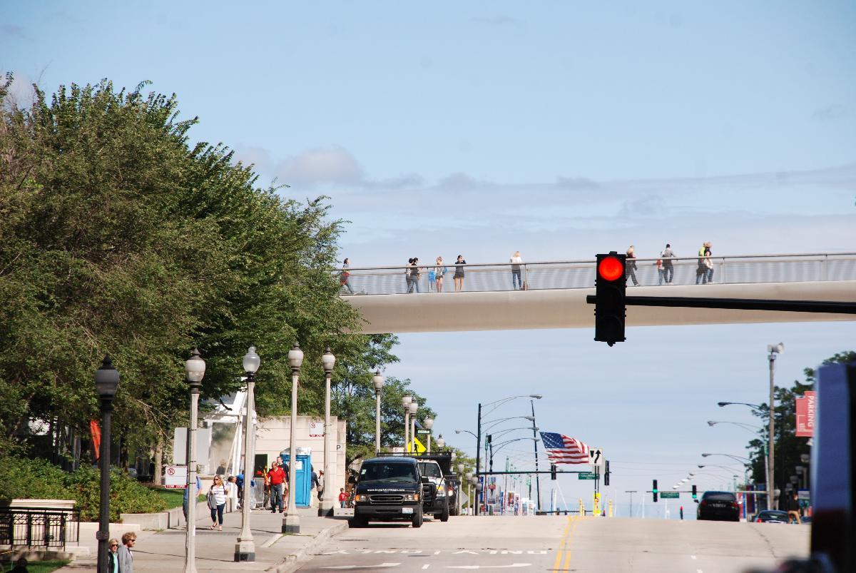 Chicago walks view